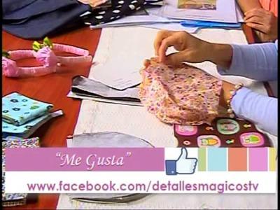 DetallesMagicos con MimiLuna invitda Vilma de Melendez,Bolsito de mano parte 2