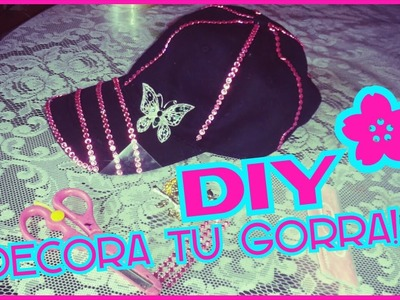 DIY-DECORA TU GORRA