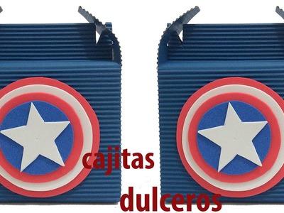 Dulceros del Capitán América.