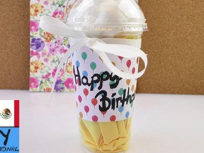"Idea para regalo   Vaso tipo Starbucks   ""Coffee to go"""