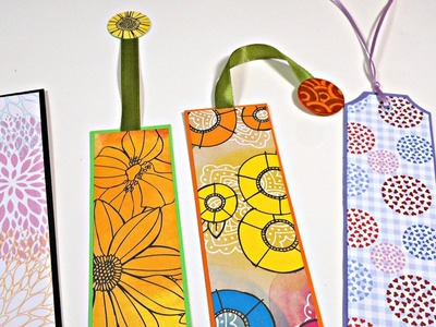 Marcapaginas con restos de papel reciclado | Easy Bookmark | Mundo@Party