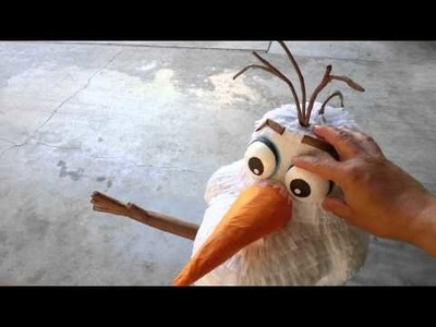 Piñata olaf, nuevo pedido