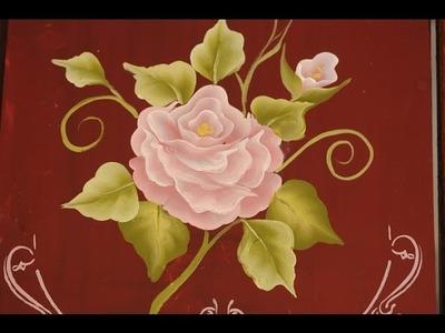 Pinceladas - Tutorial como pintar flores al oleo y acrilico - Silvia Mongelos