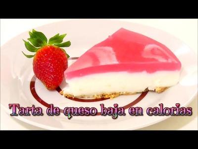 Postres de dieta: tarta de queso baja en calorias (cheescake light) - Isa ❤️