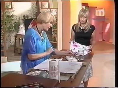 Técnica combinada sobre Muselina - Taller Elke