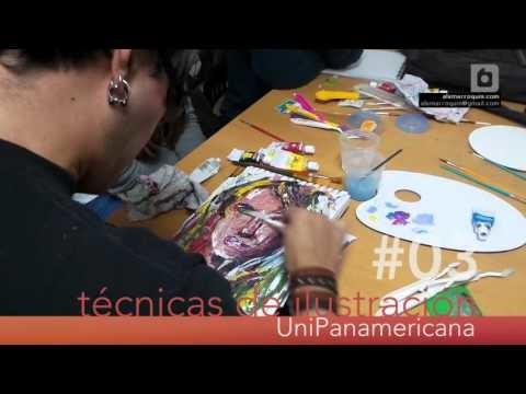 Técnicas de Ilustración - Acrílicos con Espátula - Unipanamericana