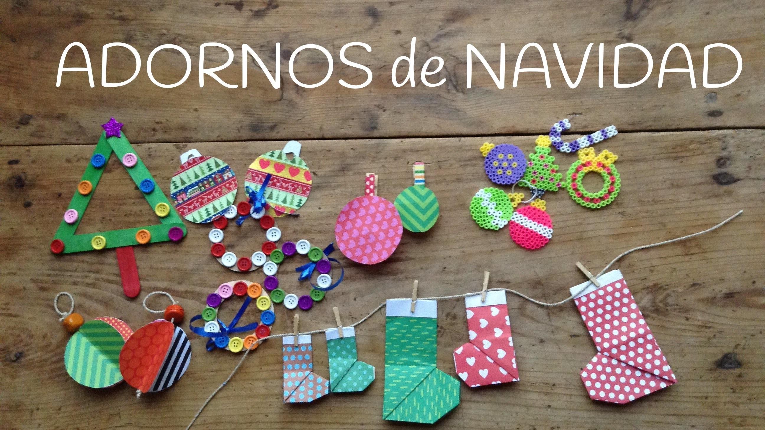 10 adornos navide os para ni os manualidades f ciles de - Manualidades faciles navidad ninos ...