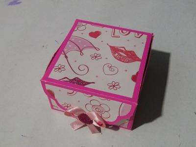 Caja vintage   fácil rápido y original   regalo
