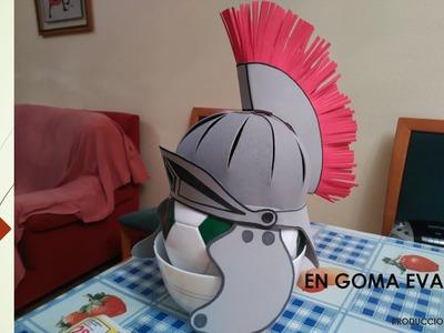 Casco Romano disfraz
