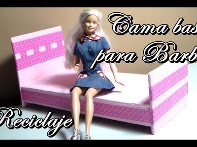 Como hacer: Cama base para Barbie. Abby manualidades