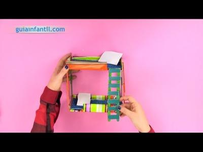 Cómo hacer unas literas de juguete | Manualidades infantiles