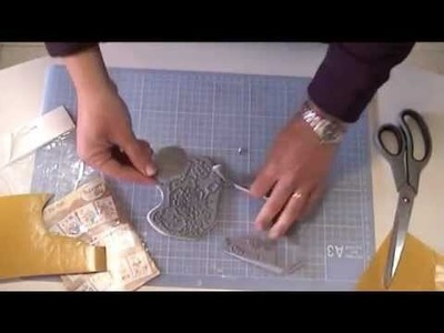 Cómo montar sellos de caucho sin base de madera
