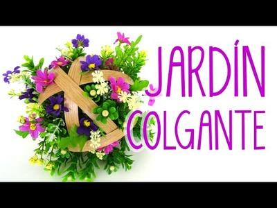 JARDÍN COLGANTE PARA DECORAR FIESTAS | SCRAPARIZATE