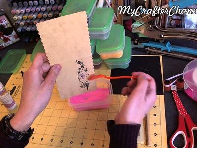 """MCC #004 - Aplicación de glitter con adhesivo """"Art Glitter"""""""