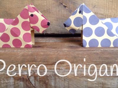 PERRO de origami paso a paso | ORIGAMI fácil para niños
