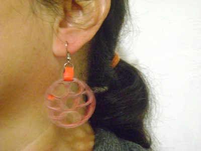 Aretes artesanales---handmade earring--1 de4