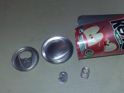 Como cortar las latas para reciclarlas