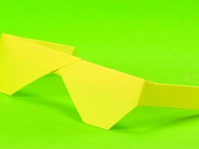 Gafas de papel paso a paso   Origami para niños
