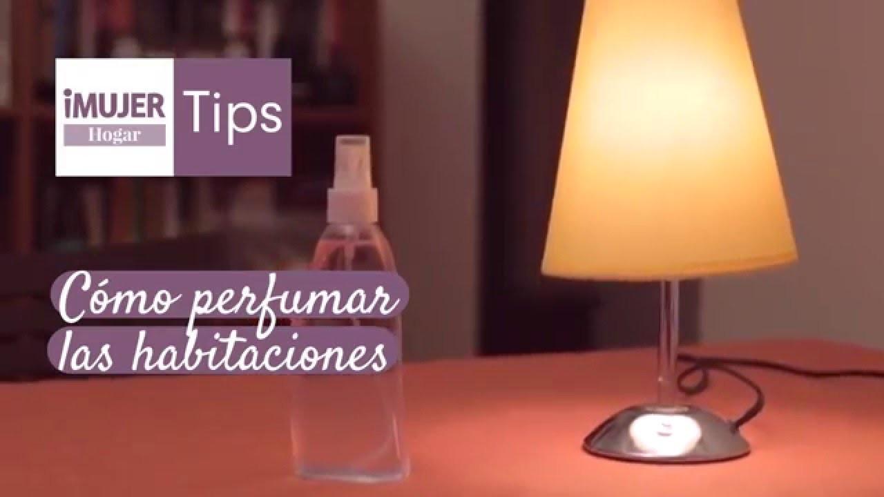 Tip Hogar | Cómo perfumar las habitaciones | @iMujerHogar