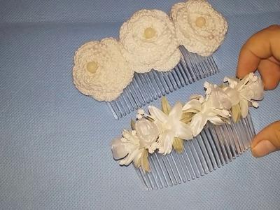 DIY Dos tocados para novia