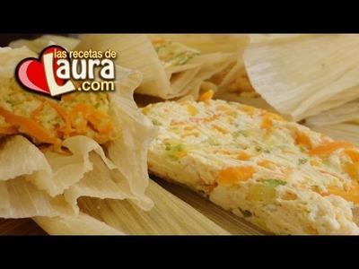 Receta de Tamales Saludables ¡Sin grasa!♥Recetas Saludables♥Healthy Tamales Recipe