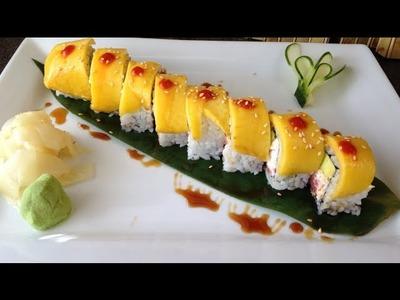 Sushi Rollo Especial Con Mango [Receta]