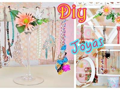 Como organizar los collares ♡ DIY Organiza tus complementos #serie2