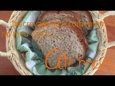 DIY - Forro para cesto de pães ✂️ Artesanato VEDA#8