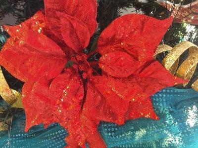 Adorno navideño (rizo o espiral para el árbol de navidad)