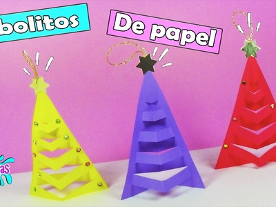 Adornos navideños de papel