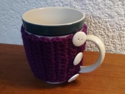 Cubretazas a crochet muy fácil y ràpida