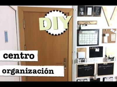 DIY | COMO HACER UN CENTRO DE ORGANIZACION | facil y rapido