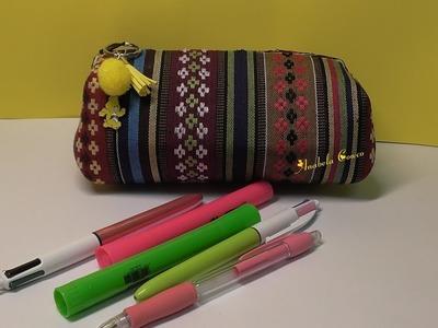 DIY neceser o estuche de goma eva. fomi FÁCIL - foamy pencilcase- toilet bag - - toilet case