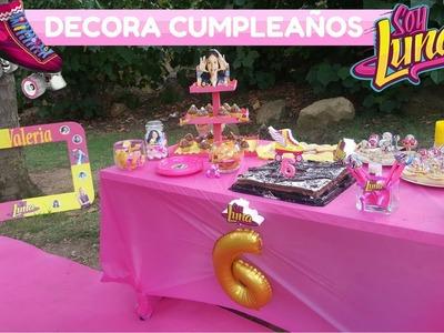 Ideas para DECORAR Cumpleaños SOY LUNA de DISNEY Paso a Paso