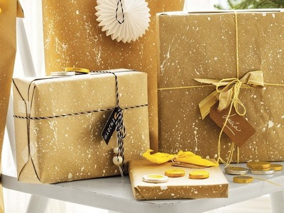 """Navidad DIY """"Envoltorios muy originales"""""""