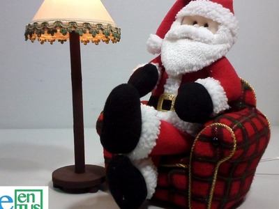 Sillón para Santa Claus, Paso a paso
