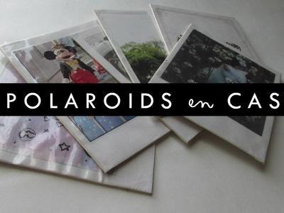 DIY: ¡Polaroids en casa! - 3 ideas