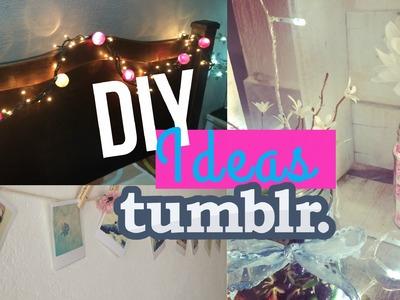 DIY tumblr | Decora tu habitación fácil, rápido y MUY barato * Style ShareM