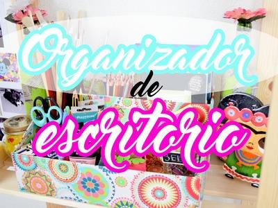 Organizador de escritorio 2 ♡ DIY ❀ Reciclaje || Likesely