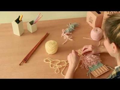 #VolverATejer - Tutorial Telar decorativo La vida en Craft