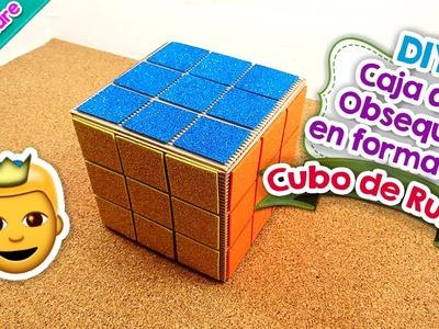 DIY | Caja de obsequio en forma de Cubo de Rubik | Manualidad | PumitaNegraArt