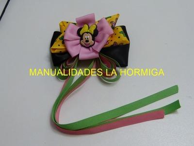 Diy, moños, lazos, flores en cinta para el cabello, How To Make a Hair Bow