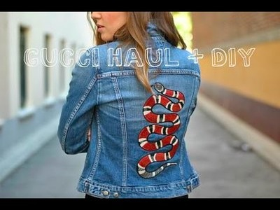 Gucci Haul + DIY