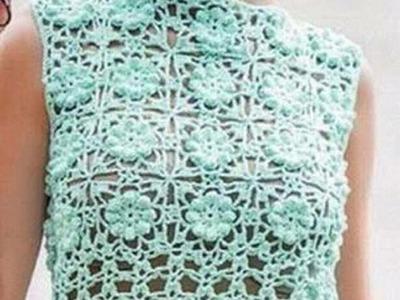 Jersey de verano a crochet 2ª parte  #tutorial #DIY