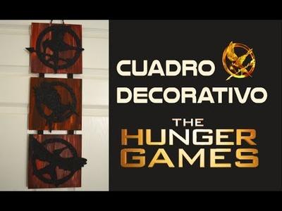 PP FANDOM - The Hunger Games DIY - Cuadro de los juegos del hambre