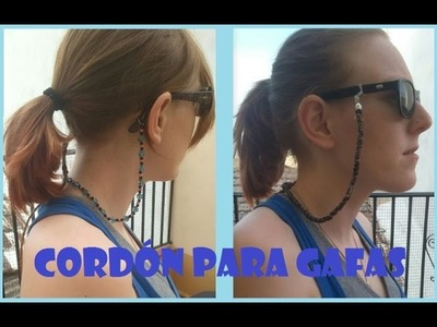 Cordón para gafas DIY