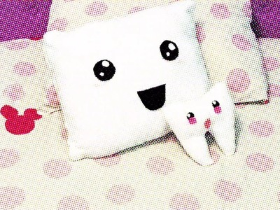 DIY: Cojines bonitos.Pillow Kawaii