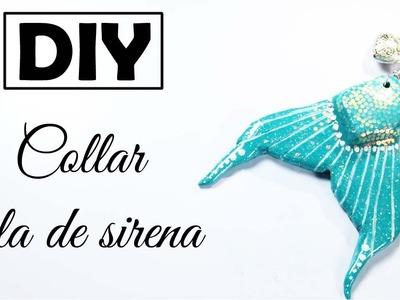 DIY ♥ Collar Cola de sirena ♥ JOYERÍA MÁGICA