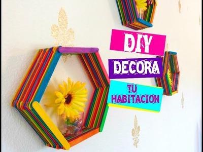 DIY DECORA TU HABITACION - HAZ TUS PROPIAS REPISAS |  Rebeca Santos