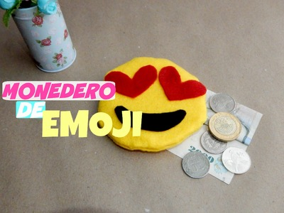 DIY monedero de emoji fácil y SIN COSER! ♥